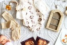 Flat Lays - Everything Baby / On trend stylish gender neutral clothes for babies.