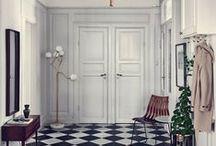 HALLWAYS –HALLAR / Decorating inspo and ideas for your hallway.