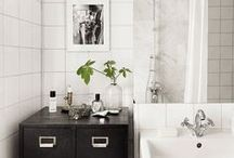 BATHROOMS – BADRUM / Decorating inspo and ideas for your bathroom.