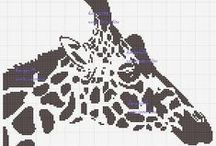 Point de Croix Girafes