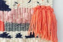 Weaving / Weaving inspiration and tutorials