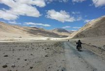 Motorcycle Tour Ladakh India / Great place to ride motorcycle & visit some of the best places on earth. Spectacular monasteries, high altitude lakes, Picturesque valleys, Himalayan cuisines & much more. Ride the land of Monks