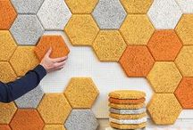 DIY Home Decor: Walls and Floors / Inspiration and tips for making the walls and floors of your abode lovely and appealing using more permanent measures.