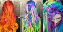 ❤Cabelo, cabeleira, cabeluda, descabelada❤ / Cabelos, cor, tendências, estilos, cortes...