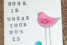 Mothers Day / Lovely DIY crafts for kids to make mommy's heart melt, and some sassy stuff too for the older offspring!