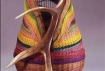 Basket Weaving / Basket weaving and unusual but beautiful baskets that inspire!