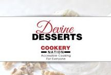 Delectible Desserts That Inspire / Everyone needs a treat once in a while.