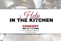 Cookery Nation: Help In The Kitchen / Need a helping hand in the kitchen? These resources are for you.