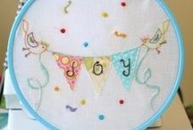 Craft Ideas ~ Embroidery ~ Cards ~ Tags ~ Banners ~ Hoop Art  & More / by Paula Parker