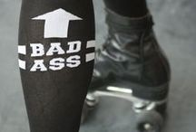 Women Crossfit Badass Socks / When you train crossfit.