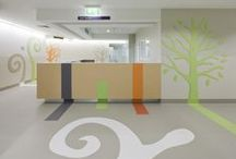Healthcare Projects / A selection of projects Gerflor flooring or wall coverings was installed in. For more information see www.gerflor.com.au