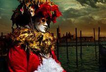 Carnevale / Maschere di carnevale veneziano