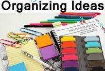 Organization - Clean house
