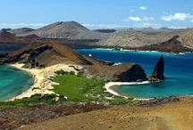 The Galapagos Islands / 700 miles off the Pacific coast are the Galapagos Islands, famed for their pristine conservation, abundant wildlife, volcanoes, and cruise boats! See our Happygringo.com/GalapagosMap