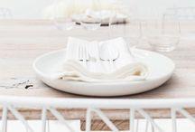 ♡ Table settings