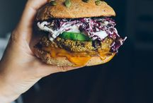 Burger & Sandwiches. / Layering healthy food in the most delicious ways.
