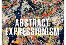 Abstract Expressionism / New York School, Action Painting, Colorfield Painting