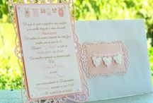 Invitations - Wedding&Christening (made by me)