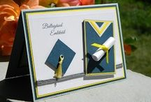 Cards - Graduation & School / Felicitari Handmade - Absolvire