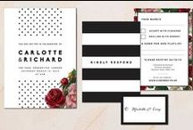 Our Wedding Stationery / By Something Kinda Cute