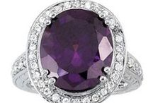 Amazing Amethyst / Traditionally associated with royalty and luxury, the amethyst has become the February birthstone in this century. Amethyst is tough and durable, wears well, and gives modern men and women the look of royalty at very affordable prices.