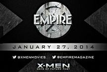 X-Men: Days of Future Past – 25 Empire collectable cover / Bryan Singer su Twitter ha annunciato «#XMen cast & I are exclusively revealing 25 @EmpireMagazine covers, one every hour, starting now. #Empire25» [27 gennaio 2014]