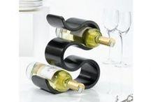 Wijnrekken / Diverse stijlvolle design wijnrekken die in het zicht mogen staan!