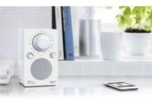 Design radio's / Design radio's in vele soorten en maten van onder andere Tivoli , Arcam en Lexon.