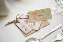 Real Weddings / A selection of photographs from weddings we have provided the wedding stationery for <3