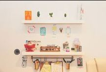 Our little studio / Something Kinda Cute located in the Atelier, High Street Arcade, Cardiff.