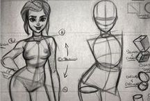 Sketches / Sketches and tutorials on how to draw. / by Natalia Martins