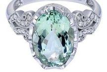Pretty Prasiolite / Prasiolite is a green form of quartz!