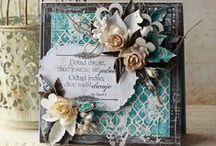 Cards - Flowers 3D / Felicitari Handmade - Flori 3D / by Raluca Vezeteu