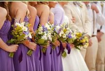 Show me your colours: Green and Purple / Going beyond traditional colour palettes on your wedding day.