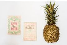 Vintage Inspired Wedding / Inspiration for a beautiful vintage inspired wedding, featuring our Save The Date Invitations - perfect for the quirky couple!
