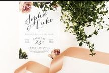 Invitation meets Inspiration: Bright Botanics / We've created a fresh vintage wedding look inspired by our 'Bright Botanics' wedding stationery.