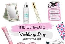 Wedding Day Survival Kit / The ultimate wedding day survival kit from SomethingKindaCute