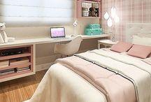 Bedroom / #bedroom #decor #homeoffice #quarto #decoração