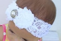 Christening Baptism Baby Headband / They are perfect for any special day