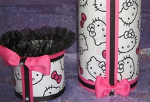 Headband Holder and Rubberband Container