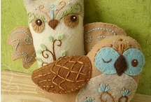 Fabulous Felt  / I absolutely adore felt - the colours, the texture, the crafting possibilities...