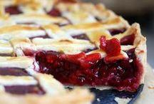 Eat desserts first - tart's & pie's