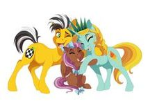 Ponycon's Mascots 2014-2016 / Say hi to Liberty, Cabbie and Bowtie!