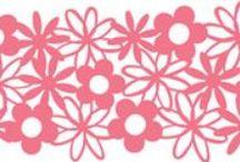 Vystřihovánky Jaro / Květiny / jaro, květiny