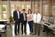 Visita do presidente do CROSP na Biblioteca / Visita do presidente do CROSP Dr. Cláudio Yukio Miyake na Biblioteca