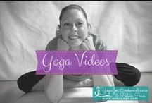 Yoga Videos / Yoga videos, how to get less pain, more balanced hormones and find your path back to health again.