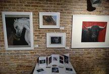 """Exposición: Galería FeedingArt Madrid - Octubre 2014. """"Una ventana a Malasaña"""" / """"Una ventana a Malasaña"""" - Exposición colectiva Gabriela del Olmo. Animal Portrait Artist — en Madrid."""