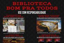 """Campanha """"Biblioteca Bom Pra Todos"""" / Campanha """"Biblioteca Bom Pra Todos"""""""