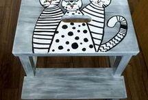 A čo som vytvorila ja.... / niektoré moje dielka, ktoré boli inšpirované aj Pinterestom