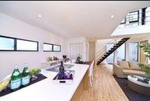 スタイリッシュな家 / 洗練されたデザイン空間に憩う贅沢な我が家では、日常のライフシーンすら特別なものになります。